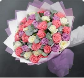 Розы Mix 35 штук