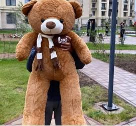 Большой Тедди Love 120 см